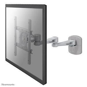 "Newstar Soporte de pared para monitor/TV, 20 kg, 25,4 cm (10""), 101,6 cm (40""), 75 x 75 mm, 200 x 200 mm, Plata FPMA-W935"