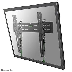 "Newstar Soporte de pared para TV, 35 kg, 94 cm (37""), 165,1 cm (65""), 100 x 100 mm, 600 x 400 mm, Negro NM-W365BLACK"