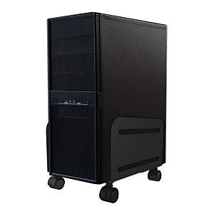 Newstar Soporte podrá montar un PC, Carro para equipo informático, Torre, 10 kg, Negro, China, 12 cm CPU-M100BLACK