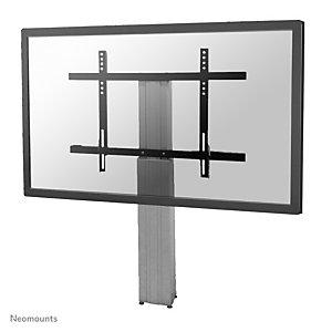 "Newstar Soporte de suelo móvil para TV, 130 kg, 106,7 cm (42""), 2,54 m (100""), 200 x 200 mm, 800 x 600 mm, Plata PLASMA-W2250SILVER"