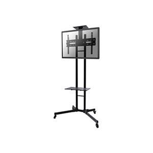 """Newstar Soporte de suelo móvil para TV, 35 kg, 139,7 cm (55""""), 81,3 cm (32""""), 200 x 200 mm, 600 x 400 mm, 1550 - 1700 mm PLASMA-M1700E"""