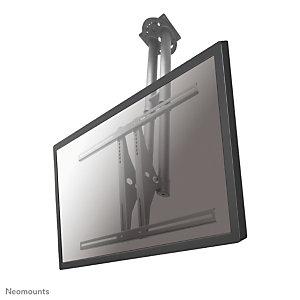 "Newstar Soporte de techo para TV, 50 kg, 94 cm (37""), 190,5 cm (75""), 200 x 200 mm, 800 x 450 mm, Plata PLASMA-C100"