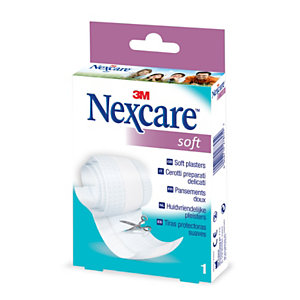 Nexcare Striscia di cerotto Soft, 8 x 100 cm