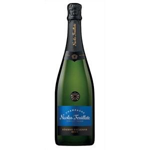NICOLAS FEUILLATTE Champagne Brut Réserve - Bouteille de 75 cl