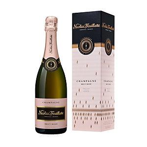 NICOLAS FEUILLATTE Champagne Brut Rosé - Bouteille de 75 cl