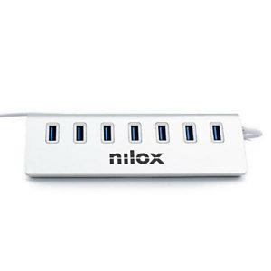 Nilox, Hub, Hub usb 7 porte 3.0, NX7HUB30
