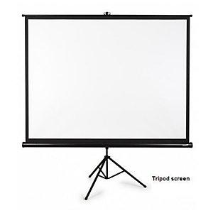 Nilox, Teli per videoproiettori, Telo cavalletto 235_235 bordi neri, SP096MTS