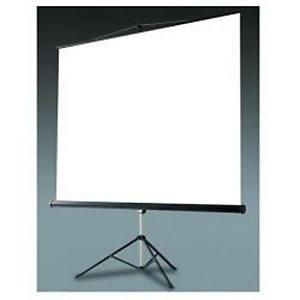 Nilox, Teli per videoproiettori, Telo manuale cavalletto 180x180 1 1, AMLI012801