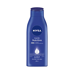 NIVEA Body Milk Nutritivo 48h Hidratante corporal