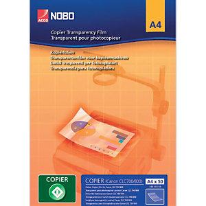 Nobo Boîte de 100 transparents pour copieur