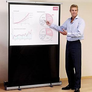Nobo écran de projection avec support de pose au sol - 79 po (200 cm)