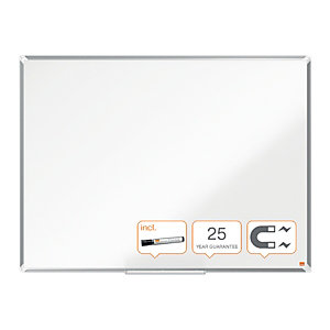 Nobo Lavagna magnetica Premium, Superficie laccata, Cornice in alluminio 120 x 90 cm