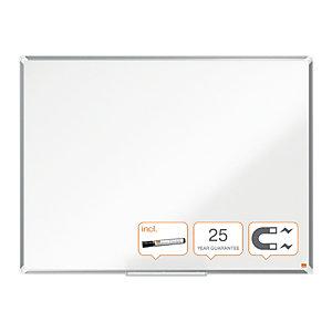 Nobo Lavagna magnetica Premium Widescreen, Superficie smaltata, Cornice in alluminio 71 x 40 cm