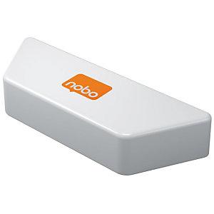 Nobo Premium Cancellino per lavagna, Magnetico, 228 x 89 x 40 mm, Bianco