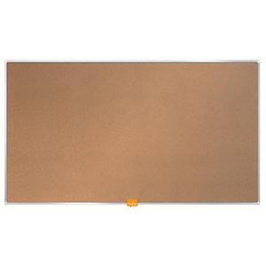 Nobo Tablero de corcho enmarcado, formato panorámico, 721 x 411 mm