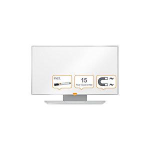 Nobo Widescreen Lavagna da parete Nano Clean™, Superficie magnetica in acciaio, 721 x 411 mm