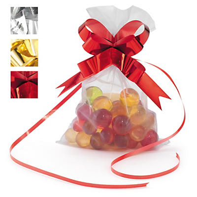 Nœud couleur effet miroir pour emballage cadeau