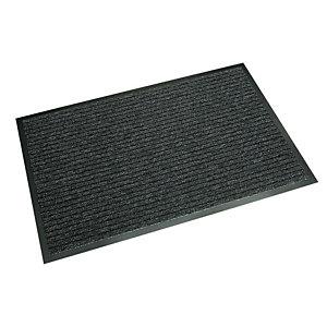 """NOMAD Tappeto da interno """" Aqua 45"""" - Misura cm 90 x 150 - colore nero"""