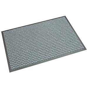 """NOMAD Tappeto da interno """" Aqua 65"""" - Misura cm 90 x 150 - colore grigio ardesia"""