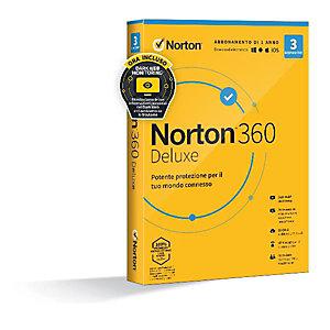 Norton, Software box, Norton 360 deluxe 2020 3dev 1y 10gb, 21397693