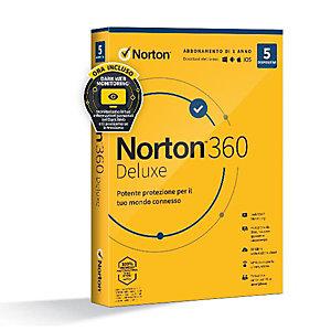 Norton, Software box, Norton 360 deluxe 2020 5dev 1y 50gb, 21397535