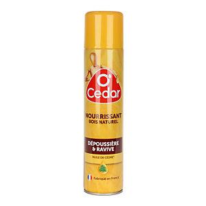 Nourrissant O'Cedar bois naturel, aérosol de 300 ml