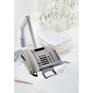 NOVUS Bras téléphone Talkmaster pivotant et articulé Gris Perle 710+0002