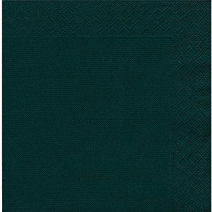 NUPIK Servilletas desechables, 2 capas, plegado de ¼, 40cm, negro