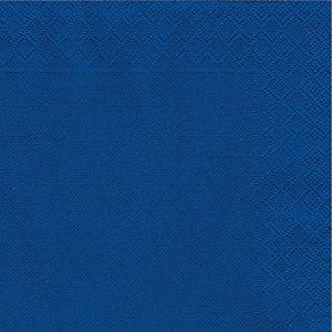 NUPIK Servilletas de papel de dos capas, desechables, 330 x 330mm, azules, 50 en cada pack