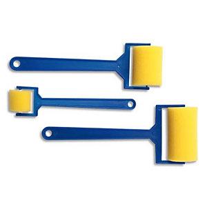 O'COLOR O COLOR Sachet de 12 rouleaux en mousse, 4 en 60 mm + 4 en 45 mm + 4 en 25 mm