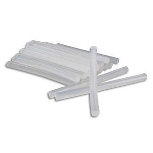 O'COLOR O COLOR Sachet de 25 bâtons de colle forte transparente pour pistolet, diamètre 7 mm, longueur 10 cm