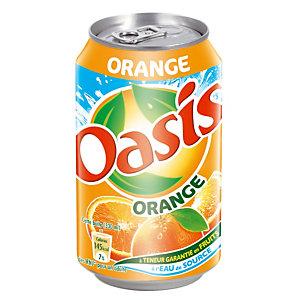 Oasis Orange, en canette, lot de 24 x 33 cl