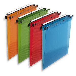 L'oblique Carpeta colgante de polipropileno A4 lomo V  colores surtidos