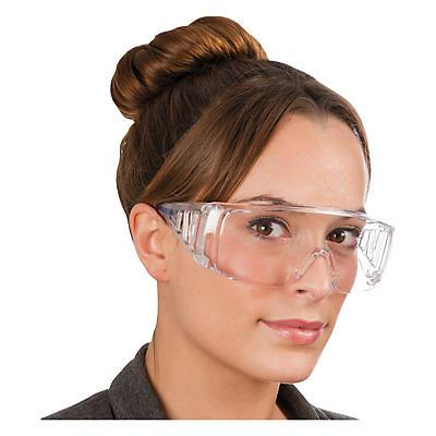 Óculos de segurança panorâmicos de plástico
