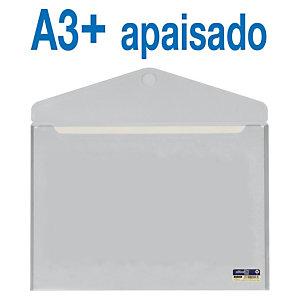 office box Sobre con cierre V-Lock, A3+ apaisado, cristal