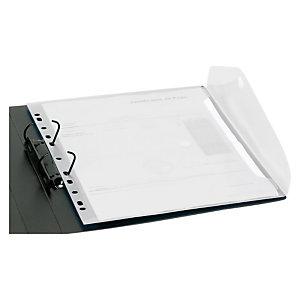 office box Sobre con cierre V-Lock, A4 vertical con tira taladrada, cristal