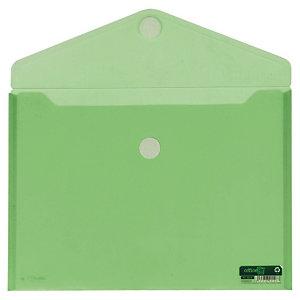 office box Sobre con cierre V-Lock, Folio apaisado, verde