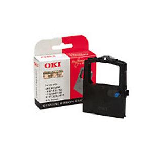 OKI 09002303, Cinta de impresora, negro