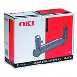 OKI 41304112, Kit de tambor, Negro