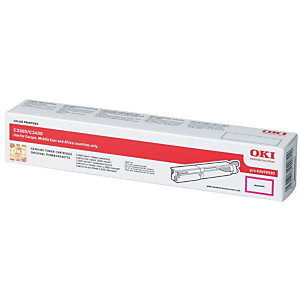 OKI 43459330 Toner Single Pack, magenta