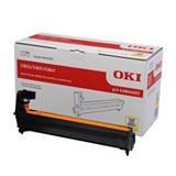 OKI 44844405, Kit de tambor compatible con C822, Amarillo, Paquete unitario