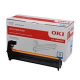 OKI 44844407, Kit de tambor compatible con C822, Cian, Paquete unitario