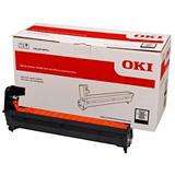 OKI 46438004, Kit de tambor compatible con OKI, Negro