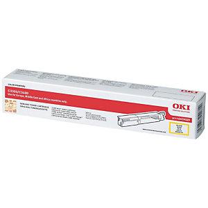OKI Toner haute définition microfin, 43459329, (pack de 1), jaune