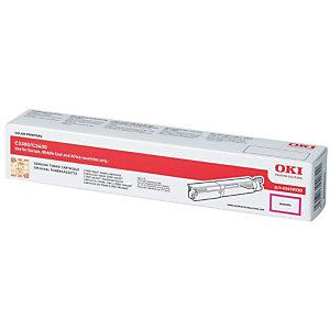 OKI Toner haute définition microfin, 43459330, (pack de 1), magenta