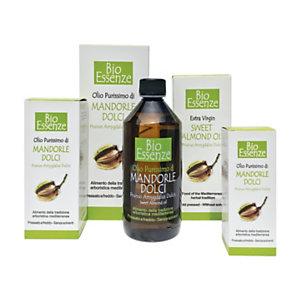 Olio di Mandorle Dolci Bio Essenze, 250 ml