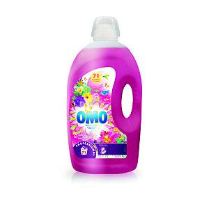 Omo Lessive liquide professionnelle aux huiles essentielles parfum lilas tropical & ylang ylang - bidon5l (Bidon 5 L)