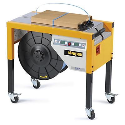 Machine à cercler Minipack semi-automatique polyvalente STRAPEX##Omsnoeringsmachine Minipack