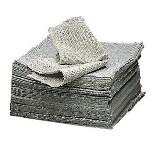 Op formaat gesneden textiel vodden Netout, per doos van 200