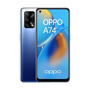 """OPPO A74 , 16,3 cm (6.43""""), 6 Go, 128 Go, 48 MP, ColorOS 11.1, Bleu CPH2219-BLUE"""